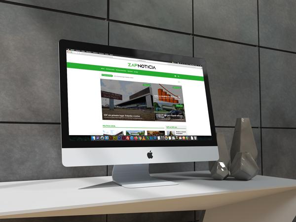 Portal Web Zap Notícia